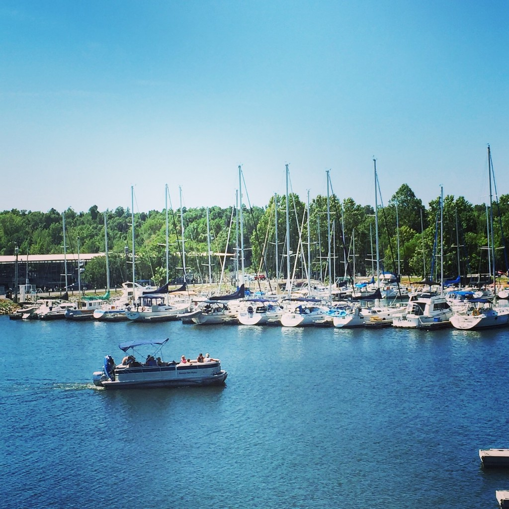 pontoon and sail boats, boating community, pontoon living