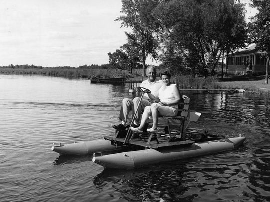 ambrose-and-marie-weeres-on-early-paddleboat