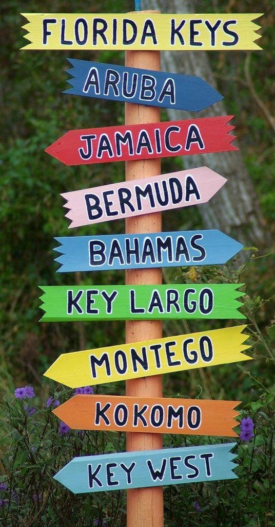 Key West, Florida, tropical destination, vacation spot, boating
