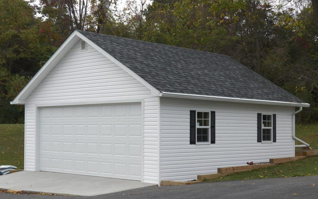 garage, garage door, white garage door, replacement garage door, garage door services